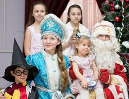 Дед Мороз и Снегурочка - домой, в сад, школу