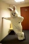 Ростовая кукла Белый заяц