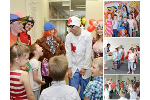 Детские праздники в детском саду и школе